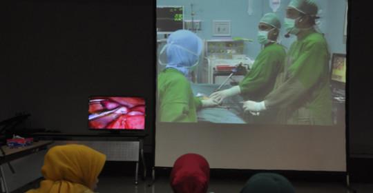Semen Padang Hospital Adakan Live Demo Laparascopy