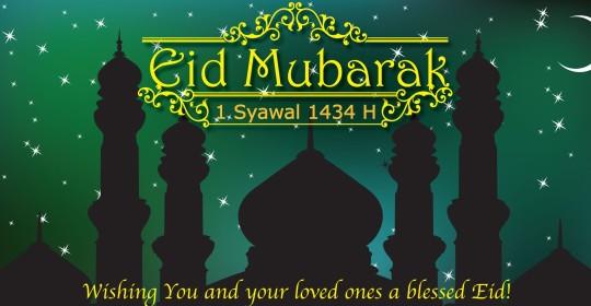 Selamat Idul Fitri 1434 Hijriah