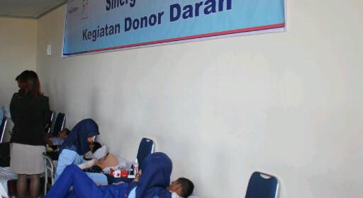 """Semen Padang Hospital berpartisipasi dalam MILAD BRI ke118  """"DONOR DARAH GRATIS"""""""