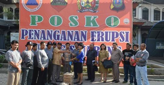 PT.SP dan SPH peduli Sinabung