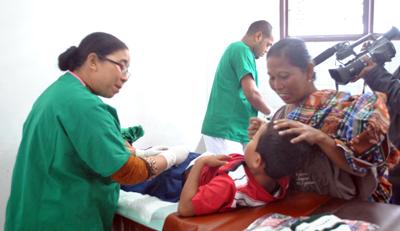 PT Semen Padang bersama Semen Padang Hospital mengadakan acara Sunatan Massal