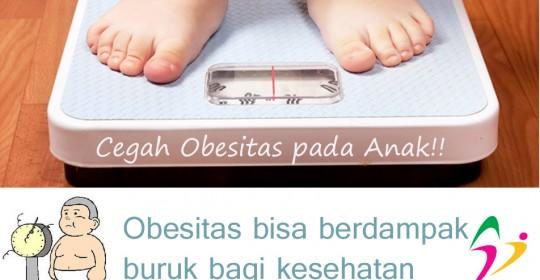 Obesitas ternyata bisa berdampak buruk bagi kesehatan balita