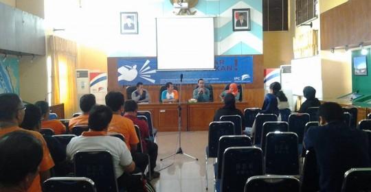 Sosialisasi Pelayanan Kesehatan Karyawan Pelindo oleh tim SPH