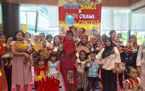 Serunya Kiddy Dance & Baby Crawl Contest di SPH
