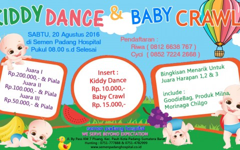 KIDDY DANCE & BABY CRAWL CONTEST