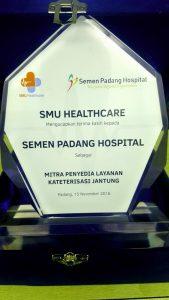 Semen Padang Hospital Mendapatkan Apresiasi Dari SMU HEALTHCARE